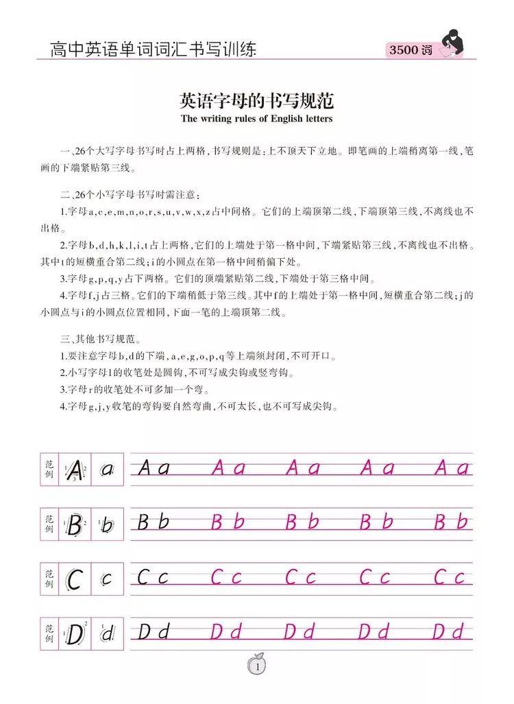 衡水体26个英文字母的写法428 作者: 来源: 发布时间:2020-1-12 08:41