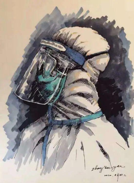 衡水五中:《 前行 ——致敬抗击肺炎的一线工作者》B部教师杜鹃3114 作者: 来源: 发布时间:2020-2-28 08:44