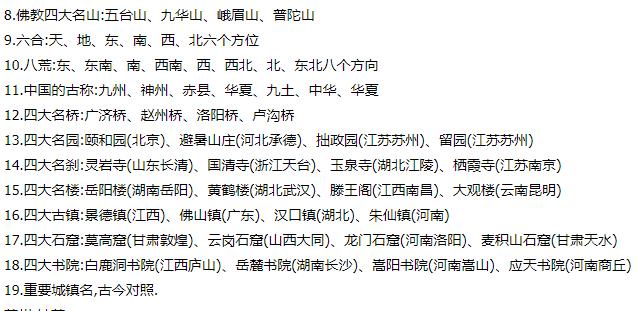 小升初语文必背知识点总结8100 作者: 来源: 发布时间:2020-3-22 14:34