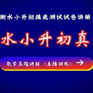 衡水小升初备考指南【综合版】